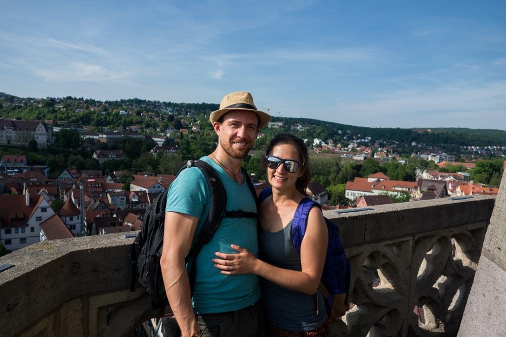 In cima a Tübingen