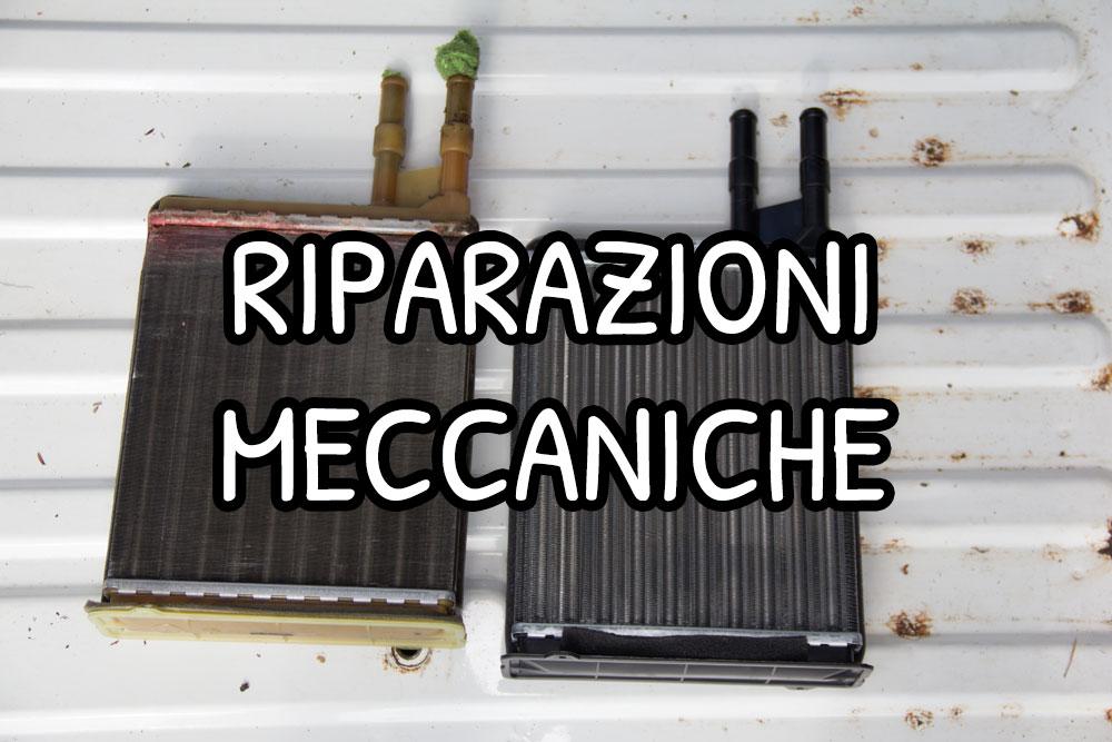 Riparazioni meccaniche, cinghia di distribuzione e radiatore interno