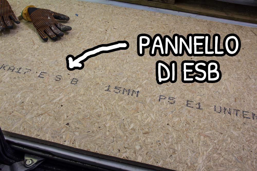 Pannello di ESB simile all'OSB da 15 mm di spessore