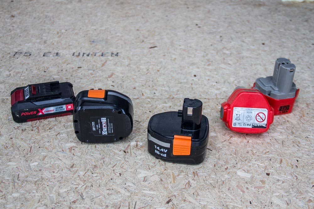 Set di batterie per utensili elettrici
