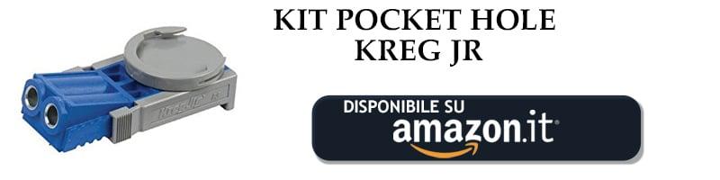 Kit pocket hole della Kreg disponibile su Amazon