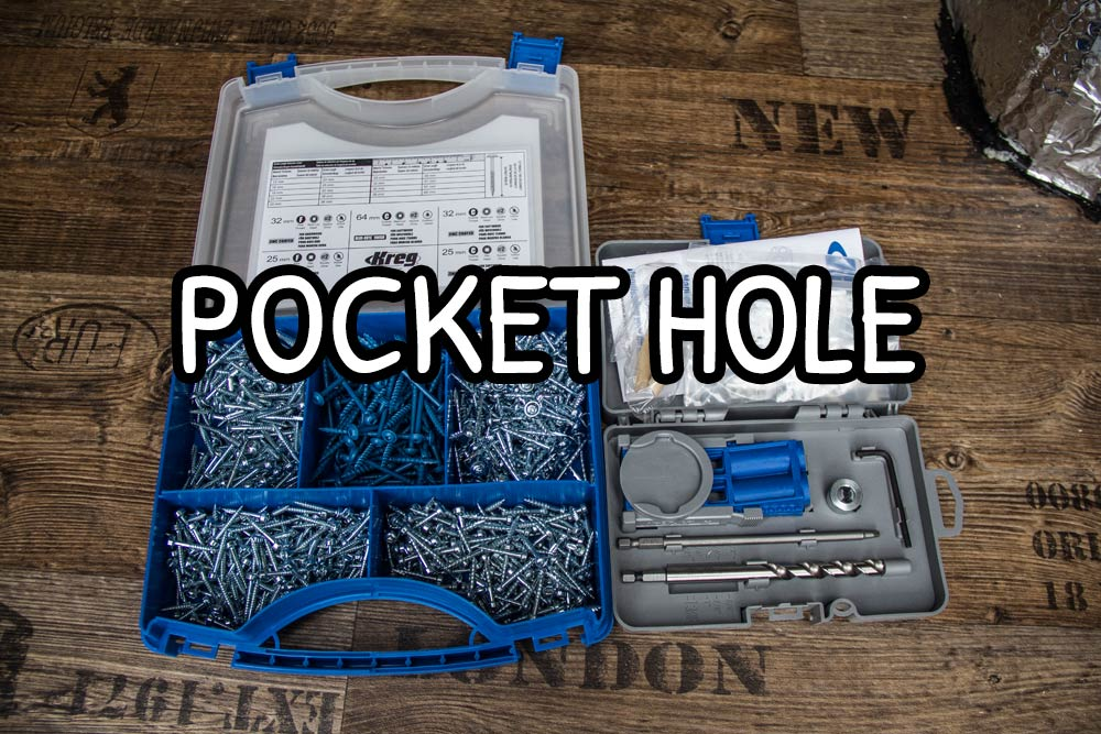 Fori a tasca pocket hole