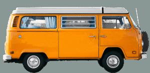 furgone camperizzato VW T2