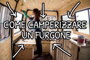 Come camperizzare un furgone
