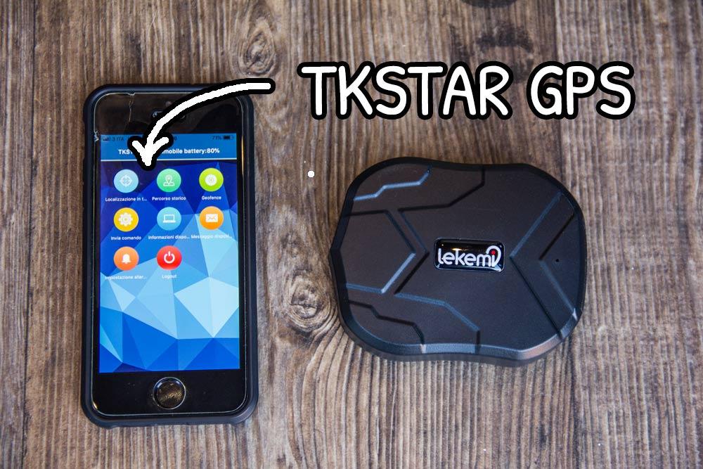 App TKSTAR per il Lekemi GPS tracker