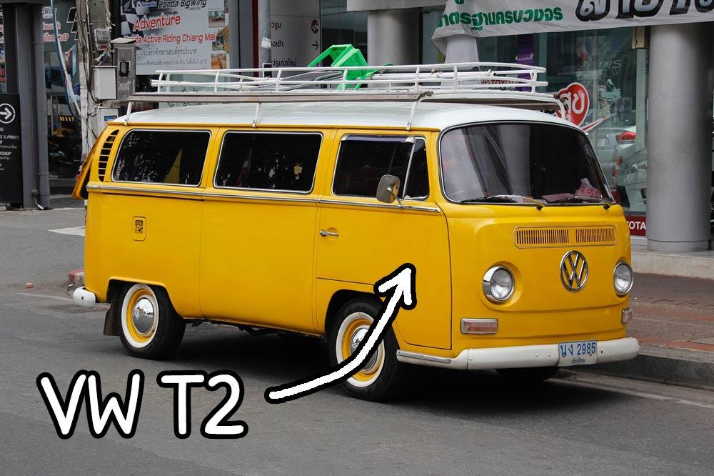 Furgoncino Volkswagen Transporter T2