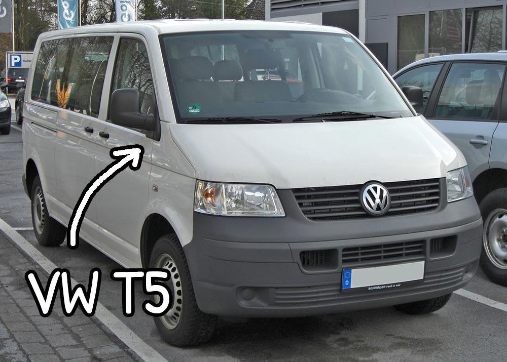 Furgoncino Volkswagen Transporter T5