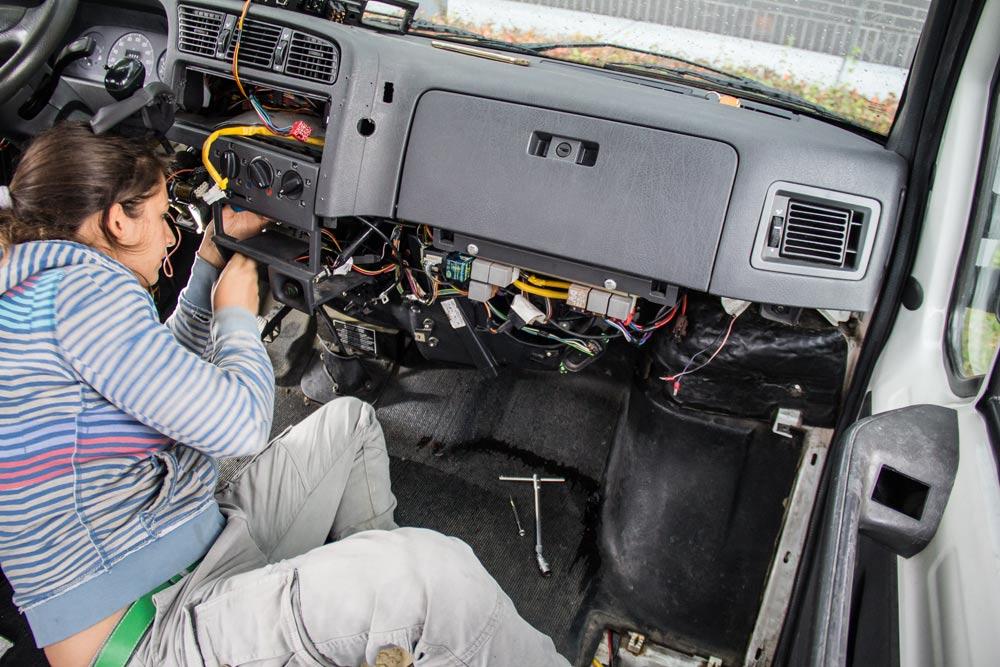 Riparazioni meccaniche sul furgone Fiat Ducato